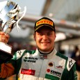 Photo: GP3 Media Service Valtteri Bottas became the second GP3 champion after winning the first of the two races at the Monza season finale and holding off teammate and title...
