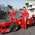 All attention may be on the Young Driver Test in Abu Dhabi this week, but while Jules Bianchi was helping the team with aero development at Yas Marina yesterday, Ferrari gave two drivers their first F1 experience at Vallelunga in Italy...