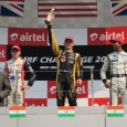 GP3 and Formula Renault race winners triumph in an international field in front of the F1 teams in New Delhi...