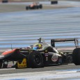 Thailand&#039;s Sandy Stuvik celebrates his first victory in F3 Open today, as he managed to hold off Yarin Stern at the final stage of the race in a great battle. 