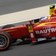 Fabio Leimer began the second round of the GP2 Series in Bahrain by going a second faster than anyone else in free practice.