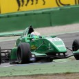 British Caterham-backed youngster Matt Parry beat current series champion Jake Dennis to pole in the opening round of the Formula Renault 2.0 NEC at Hockenheim.