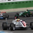 ART Junior Team's Andrea Pizzitola took his maiden Formula Renault 2.0 NEC win in the third race of the opening round at Hockenheim.
