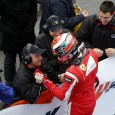 Raffaele Marciello was in a league of his own in race one of European F3 at Hockenheim, taking a dominant win in rainy conditions despite a spin mid-race.