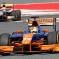 Robin Frijns won just his third race in GP2 in a classic feature race in Barcelona.