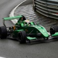 Matt Parry led from start to finish in the first race of the Formula Renault 2.0 Pau Trophy, securing pole position for Monday's Pau Grand Prix.