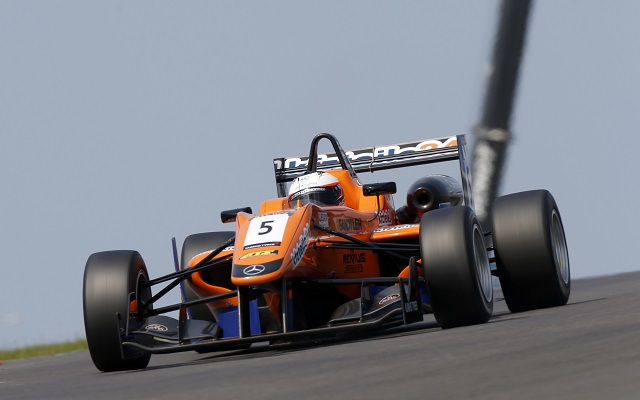Mucke Motorsport's Felix Rosenqvist took pole for the annual Masters of F3 race at Zandvoort, topping both qualifying sessions and setting the overall best time of 1:30.839.