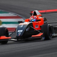 Canadian racer Luke Chudleigh will stay in Formula Renault 2.0 Alps for a sophomore career, having re-signed with French squad Tech 1 Racing.