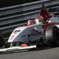 Indian BRDC F4 driver Arjun Maini made up for the disappointment of spinning out of the lead in race two at Brands Hatch by taking the spoils in the final race of the weekend, moving to just nine points off the top of the standings.