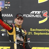 German F3 champion Markus Pommer took his 13th victory of the season in the third race of the penultimate round at Sachsenring.