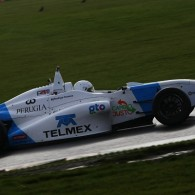 Douglas Motorsport racer Rodrigo Fonseca joined the BRDC F4 Winter Championship title fight with a comfortable victory in the penultimate race of the season.