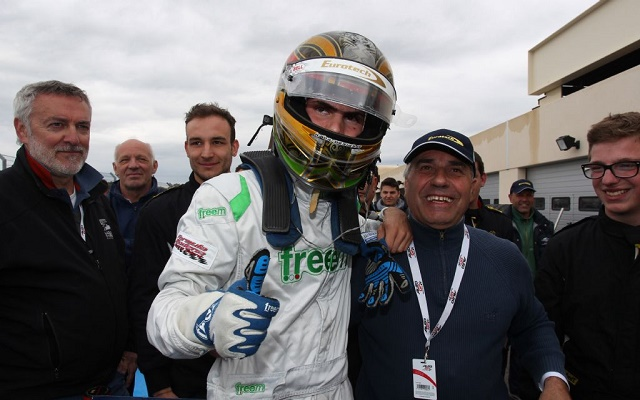 After losing two wins via post-race decisions in 2014, Giovesi finally got one to stick this year (Photo: Auto GP)