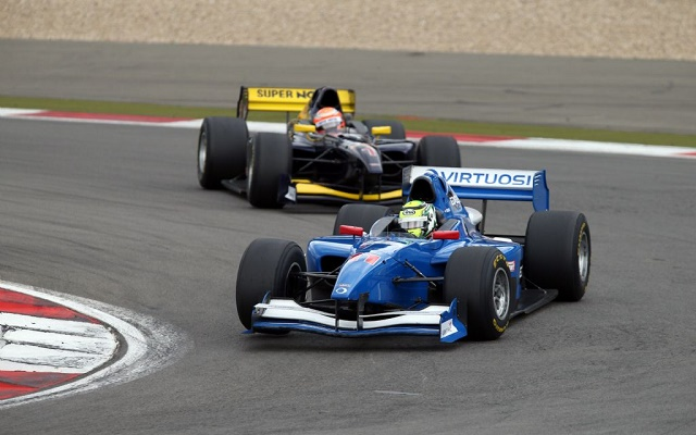 Kiss and Pommer ended up taking centre stage in the fight for the runner-up spot (Photo: Auto GP)