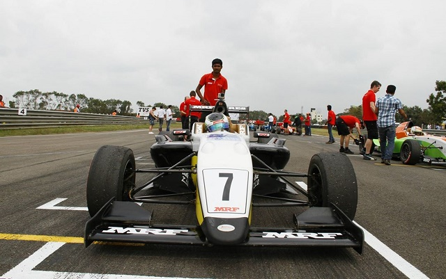 Four wins paved way to Sowery's second single-seater title (Photo: MRF Racing)