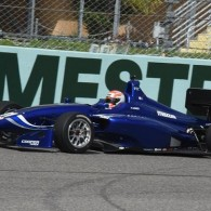 Carlin Racing's Ed Jones enjoyed a comfortable drive from pole to victory in his first and his team's first race in Indy Lights.