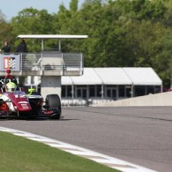 Rookie Spencer Pigot won the first race of the Legacy Indy Lights 100 at Barber Motorsports Park, breaking a three-race winning streak by Carlin team rookie Ed Jones - and closing in on the championship points in the process.