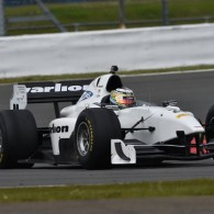 FMS Racing's Facu Regalia was comfortably quickest in Auto GP's qualifying at Silverstone.