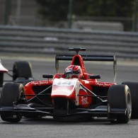 Arden driver Kevin Ceccon triumphed in the second GP3 race at the Hungaroring.