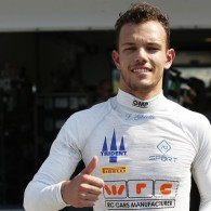 Trident Racing's Luca Ghiotto strengthened his GP3 championship lead with an imperious performance in the first race of the Hungaroring round.