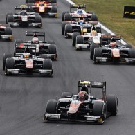 Japanese F3 champion Nobuharu Matsushita became the fourth rookie winner of the 2015 GP2 season, completing an ART 1-2 with Stoffel Vandoorne in the Hungary sprint.