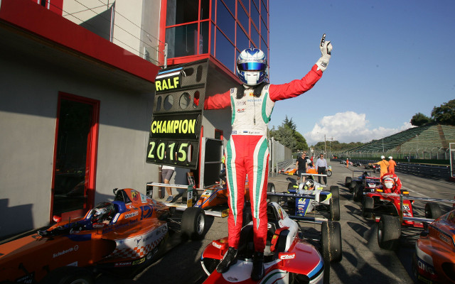 Estonian drivers Ralf Aron and Martin Rump added their names to the growing list of 2015 champions in junior single-seaters last weekend, both crowning dominant seasons by securing titles with a round to spare.