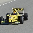 Santiago Urrutia has clinched the 2015 Pro Mazda Championship with a second-place finish behind race winner Garett Grist in what was an eventful first race at Laguna Seca.