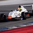 Championship favourite Louis Deletraz set the fastest time in Friday's Formula Renault 2.0 NEC practice at Hockenheim.