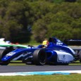Jordan Lloyd has a good chance of wrapping up the inaugural Australian Formula 4 title on Sunday after winning the first two races of the penultimate round at Phillip Island.