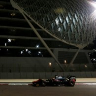 Stoffel Vandoorne claimed a record-breaking win in the final GP2 feature race of his title-winning campaign in Abu Dhabi.