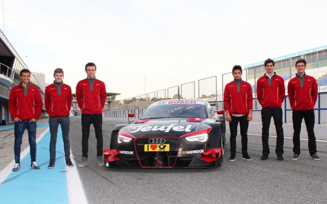 DTM Young Driver Test