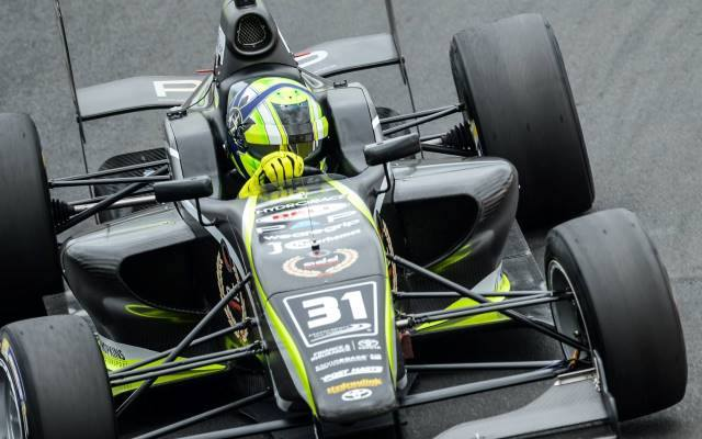 British racer Lando Norris scored his fourth Toyota Racing Series victory at Taupo, winning closely ahead of Pedro Piquet.
