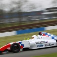 Racing Steps Foundation-protege Alex Quinn scored the first victory of his car racing in the first MSA Formula race at Donington Park.