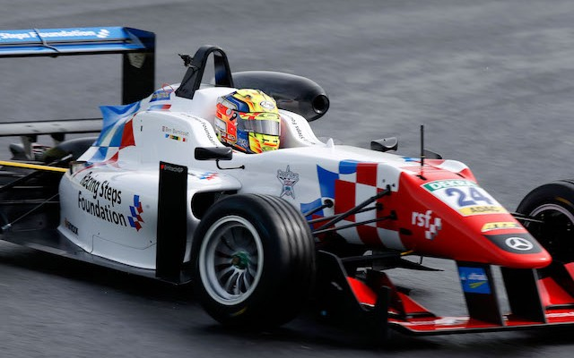 Ben Barnicoat scored a surprise first victory in the FIA Formula 3 European Championship after team-mate George Russell collided with Maximilian Gunther in a wet final race at the Hungaroring. In a race […]