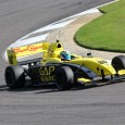 Patricio O'Ward scored his second Pro Mazda win with a late move on Pelfrey team-mate Aaron Telitz in the first race at Barber Motorsports Park.