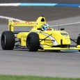 The sensational start to Pato O'Ward's 2016 Pro Mazda campaign continues, as the Mexican driver for Team Pelfrey captured his third pole position of the season with a new track record around the Indianapolis Motor Speedway road course.
