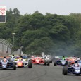 Devlin DeFrancesco led from pole position to chequered flag for a second straight British Formula 4 win in the opening race of the Oulton Park weekend.