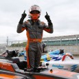 Matheus Leist claimed his third victory of the BRDC British Formula 3 season in an opening race of the weekend at Silverstone shortened by a start-line crash.