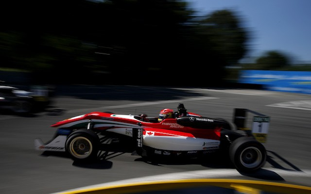 Lance Stroll picked up another win to extend his FIA Formula 3 European Championship lead after Joel Eriksson was taken out while on course for a maiden win in the first Norisring race.