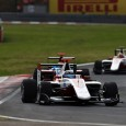 Alex Albon used a good start to take his third victory from four events in GP3 and with it the points lead in race two at the Hungaroring.