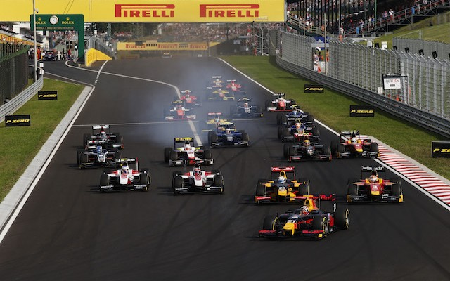 Pierre Gasly made it two GP2 feature race wins out of two since ending his long win drought with a controlled performance at the Hungaroring.