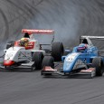 Lando Norris took victory in the first Eurocup Formula Renault race at Spielberg despite being passed by Max Defourny on four separate occasions in a thrilling duel.