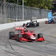 Felix Rosenqvist led all 80 laps of the two Indy Lights races in Toronto on his return to the series.