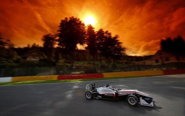 George Russell took victory in the second FIA Formula 3 European Championship race of the day at Spa-Francorchamps.