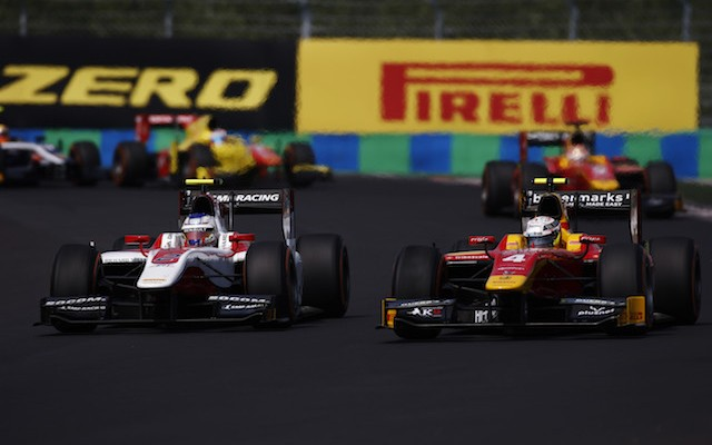 Sergey Sirotkin scored a long-awaited first victory for ART Grand Prix with a great start and an epic pass on Jordan King in the GP2 sprint race at the Hungaroring.