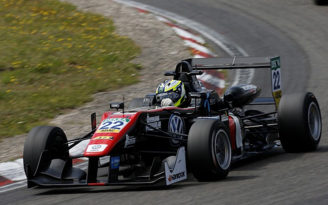 Joel Eriksson has won the Masters of Formula 3 at Zandvoort, with Red Bull Juniors Niko Kari and Sergio Sette Camara providing a podium lockout for the Motopark team.