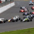 Sennan Fielding claimed the British F4 lead away from Max Fewtrell at the penultimate round of the season at Silverstone, where Zane Goddard won twice.