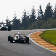 Lando Norris took a big step towards sealing the Eurocup Formula Renault title at Spa tomorrow despite having to settle for third in race one behind surprise first-time winner Hugo de Sadeleer.