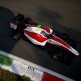 Nyck de Vries picked up his first GP3 victory in the second race at Monza, as Charles Leclerc was forced out by a collision with team-mate Nirei Fukuzumi.