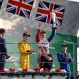Jake Dennis claimed his maiden GP3 victory in the opening race at Monza as Jack Aitken and a charging Jake Hughes made it an all-British podium.