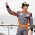 Matheus Leist has taken the BRDC British Formula 3 Championship lead in the deciding round at Donington Park, winning a first race shortened by a crash that eliminated erstwhile leader Ricky Collard.